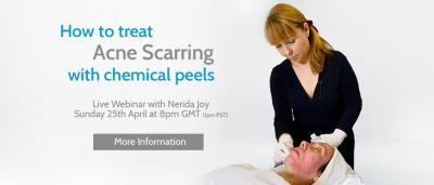 Masterclass Webinar: Treat Acne Scarring with Chemical Peels